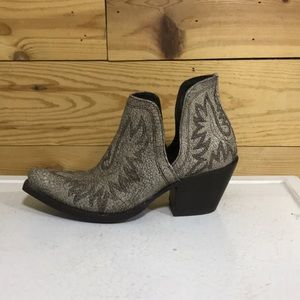 Ariat Dixon boot shoes booties 9 Blanco grey